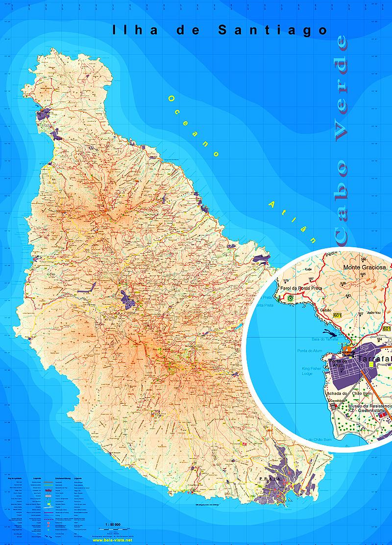 Map Sal Island
