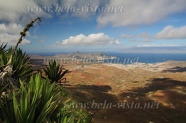 Mindelo from Monte Verde Sao Vicente Cabo Verde