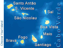 Cape Verde Map small